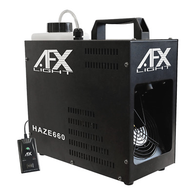 AFX Light Haze 660 700W Haze Machine Hazer DJ Disco Lighting Inc Remote • 119£