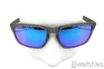 AU99.86 • Buy New Oakley Sliver Urban Matte Gray Sapphire Iridium Mirror Sunglasses OO9262-21