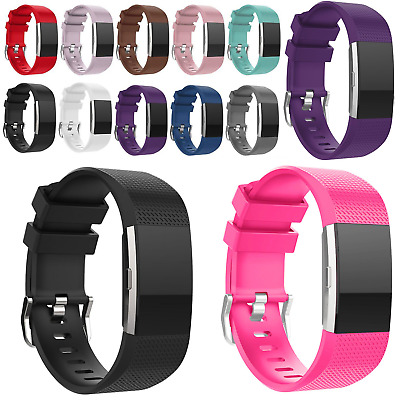 $ CDN8.27 • Buy Replacement Strap For Fitbit Charge 2 Soft Band Buckle Wristband Sports