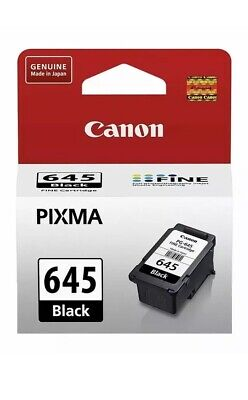 AU31.95 • Buy Genuine Canon PG-645 Black Ink Cartridge For TS3165 TS3160 TR4560 MG2560