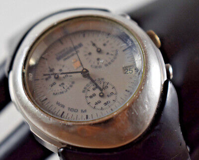 $ CDN36.66 • Buy Vintage Timex Ironman Chronograph Men's Watch PARTS OR REPAIR ONLY!
