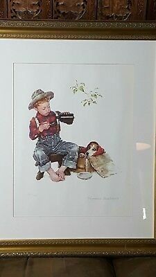 $ CDN893.13 • Buy 1956  Mysterious Malady  Limited Edition Lithograph Print By Norman Rockwell