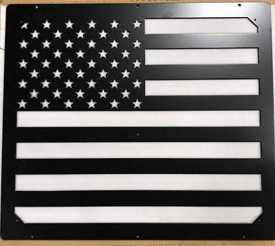$229.99 • Buy USA FLAG Hood Vent Grill Insert, For HUMVEE M998 M1123 H1 Hummer M1045