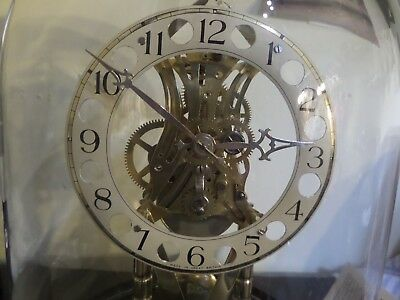 £299 • Buy Pro Clock Skeleton Clock  004  Under Glass Dome Hand Made. 106 Photos Of Work