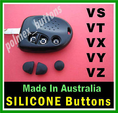AU12 • Buy  Fits Holden Commodore VT VX  WH WK WL Remote- 3 Silicone Key BUTTONS (1set)