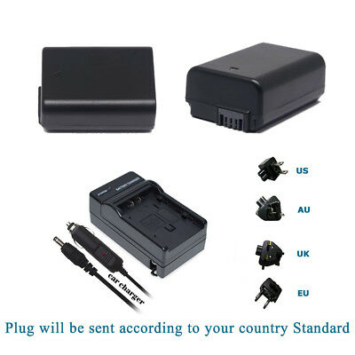 AU10.91 • Buy NP-FW50 Battery /Charger Kits For Sony NEX-3 NEX-5 NEX-6 Alpha 7R A35 A55 A6000