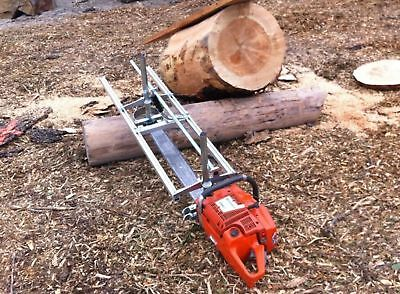 £148.99 • Buy Holzfforma Portable Chainsaw Mill Planking Milling Lumber 18  To 48  Guide Bar