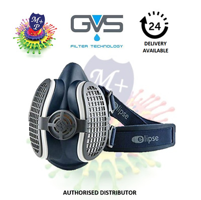 GVS Filter MASK SPR501 Elipse P3 DustMask Half Respirator,Filters Included • 23.99£