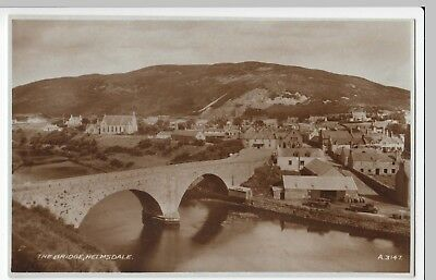 Sutherland; The Bridge, Helmsdale RP PPC By Valentines, Unposted • 6£