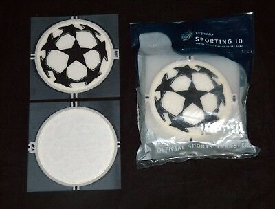 Official Champions League Lextra 06/08 Football Shirt Badge Starball Sporting ID • 14.73$