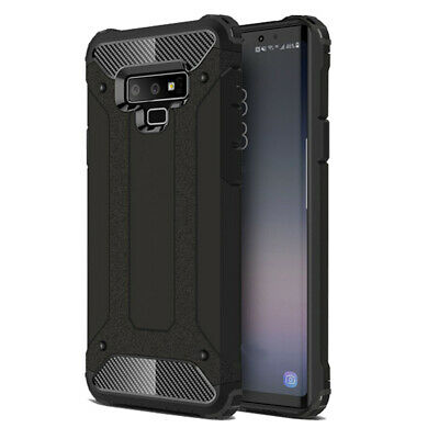 $ CDN9.79 • Buy Black Armor Case For Samsung Galaxy NOTE 9 Hybrid Shock Proof Thin Back Cover
