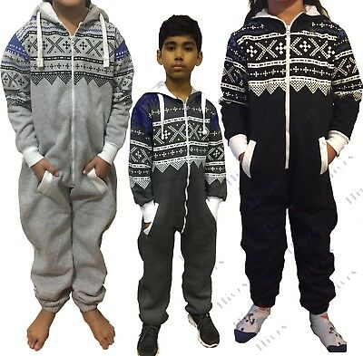 New Kids Printed Onsie1 Boys Girls One Jumpsuit All In One Childrens Aztec Comfy • 8.95£