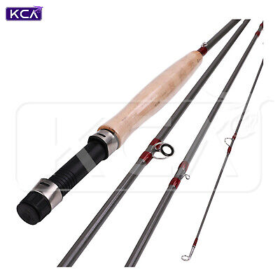 $ CDN45.58 • Buy Medium Fast Action Fly Rod, 9ft, 5wt, 4 Sections, Graphite