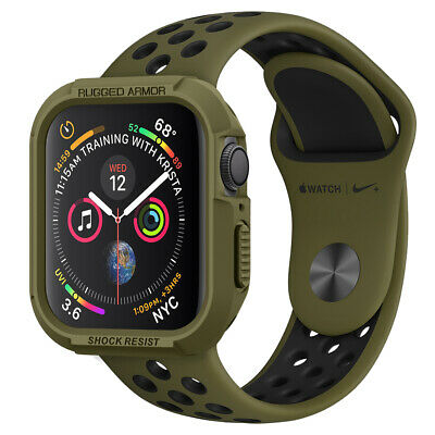 $ CDN16.99 • Buy Apple Watch Series 6/5/4/SE Case (40mm, 44mm) Spigen® [Rugged Armor] Cover
