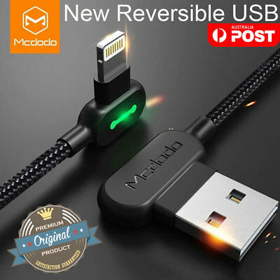 AU21.99 • Buy Genuine MCDODO USB Cable Fast Charging Charger For IPhone 11 Pro X 8 Plus XS Max