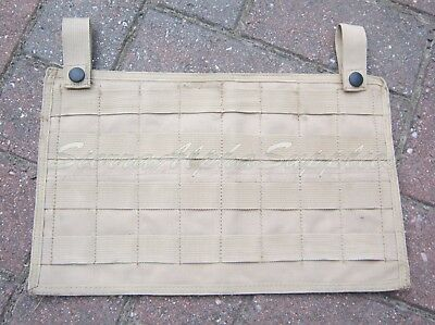 British Army Surplus Solo International Tear Off Cqb Molle Pouch Panel,ops Panel • 12.99£