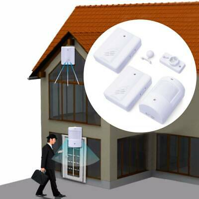 Restaurant Shop Door Entry Wireless Motion Sensor Door Chime Door Bell Alarm • 9.19£