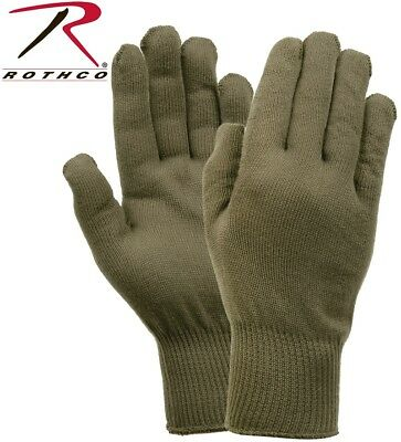$8.48 • Buy Olive Drab Green Military Issue Winter Polypropylene Glove Liners Rothco 8413