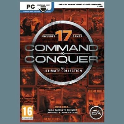 AU12.81 • Buy Command And Conquer The Ultimate Collection PC CD Key EA Origin Key Worldwide