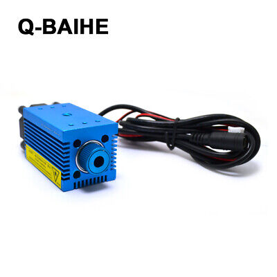 AU81.99 • Buy 450nm 1W 12V Point Laser Blue Violet Adjustable Focus DIY 3D Ddicated Engraving
