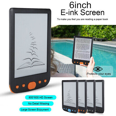 $62.64 • Buy 6  800*600 HD E-Ink Easy-to-read E Book Reader Maximum 32GB TF Card Electronic