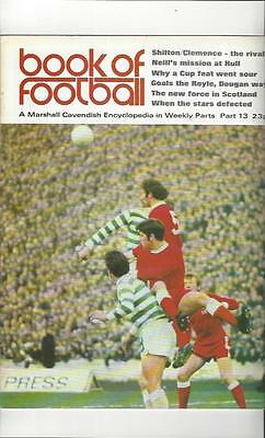 Book Of Football Marshall Cavendish 1971 Part 13 • 4£