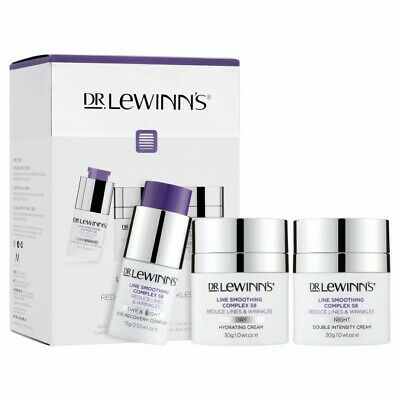 £79.48 • Buy DR LEWINNS Line Smoothing Complex LSC S8 Ageless Trinity 3 Pack