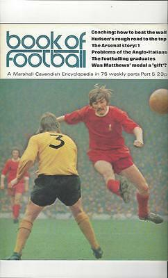 Book Of Football Marshall Cavendish 1971 Part 5 • 4£