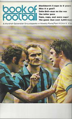 Book Of Football Marshall Cavendish 1972 Part 41 • 4£