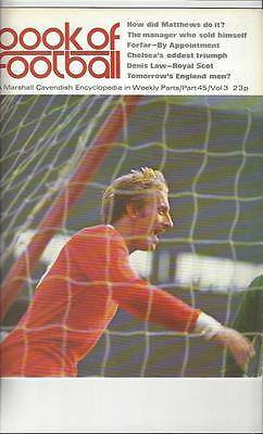 Book Of Football Marshall Cavendish 1972 Part 45 • 4£