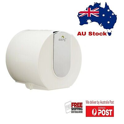 AU19.75 • Buy Dolphy Wall Mounted Small Roll Toilet Paper Dispenser - Mirror Finish