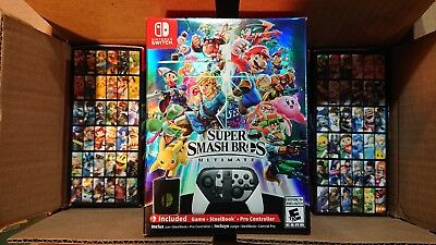 $242.75 • Buy NEW Super Smash Bros Ultimate Limited Edition - Nintendo Switch (No Console)