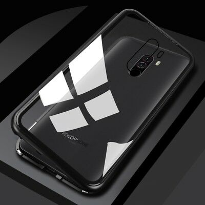 $ CDN11.90 • Buy Magneto Adsorption Metal Case For Xiaomi Pocophone F1 Glass Cover