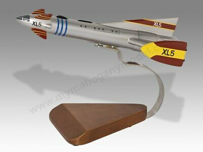 £137.50 • Buy Gerry Anderson Fireball XL5 Solid Dry Wood Handcrafted Airplane Desktop Model