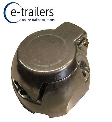 Maypole 7 Pin Female Metal 12n Electrics Socket Plug Trailer Caravan Tow -mp025b • 6.86£