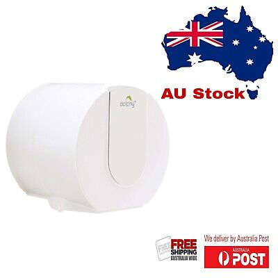 AU19.75 • Buy Dolphy Wall Mounted Small Toilet Paper Dispenser - White &  Silver