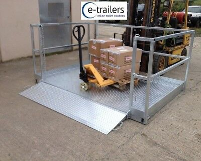 Container Lorry Trailer Loading Platform - For Fork Lift Telehandler Tractor  • 2,950£