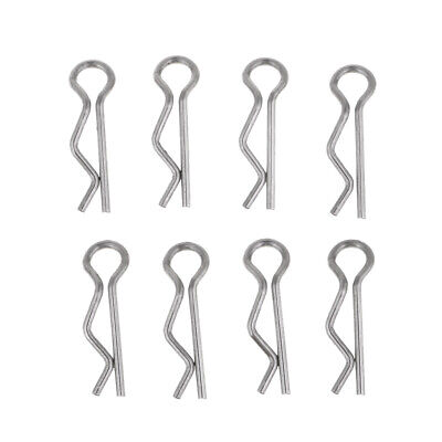 8pcs RC Car Body Clips For WLtoys A949 A959 A969 A979 1/18 Scale Truck Buggy • 2.85£