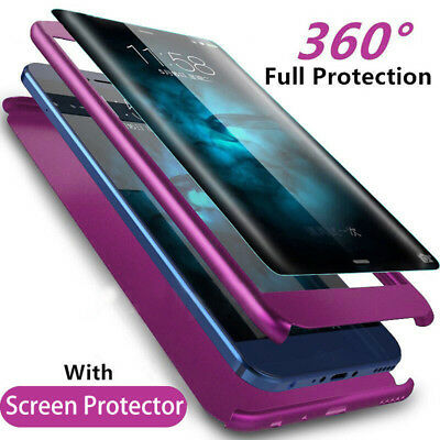 $ CDN3.93 • Buy 360°Protection+Protect Film Phone Case Cover For Samsung Galaxy S8 S9 Plus Note8