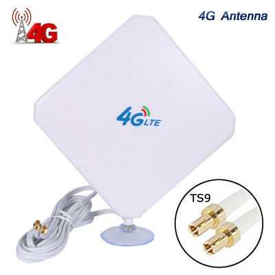 AU28.45 • Buy 35dBi 4G LTE Booster Ampllifier MIMO Antenna TS9 Telstra Optus For ZTE