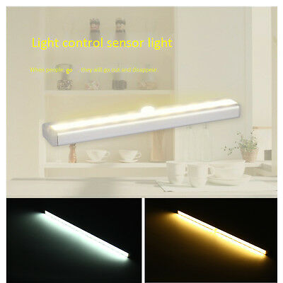LED Induction Night Light Indoor Closet Kitchen Wall Lamp Motion Activated ST715 • 6.19$