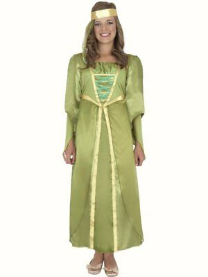$16.67 • Buy Maid Marion Medieval Fancy Dress Costume Girls Outfit Historical School Theme