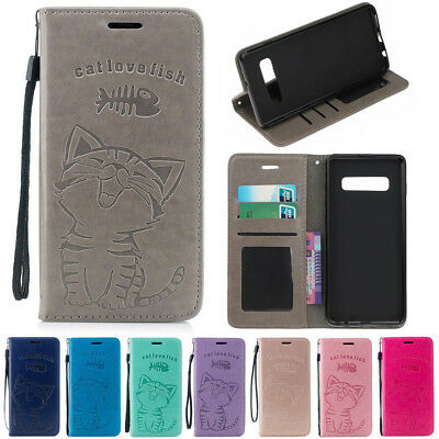 $ CDN5.67 • Buy For Samsung Galaxy S20 Ultra S10 S9 Plus Leather Flip Stand Wallet Case Cover