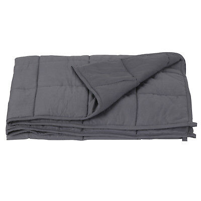 View Details 60  X80  Weighted Blanket  Full Queen Size Reduce Stress Promote Deep Sleep 20lb • 46.90$