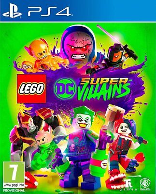 AU60.90 • Buy LEGO DC Super-Villains (PS4) BRAND NEW AND SEALED - IN STOCK - QUICK DISPATCH