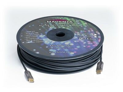 $ CDN988.65 • Buy Magenta Research MG-AOC-661-70 HDMI 2.0 Active Optical Cable 230ft (70m)