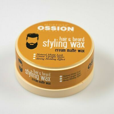 Morfose Ossion Hair & Beard Styling Wax Barber Cream Matte Wax Free Delivery • 6.49£