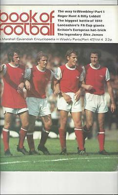 Book Of Football Marshall Cavendish 1972 Part 47 • 3.50£