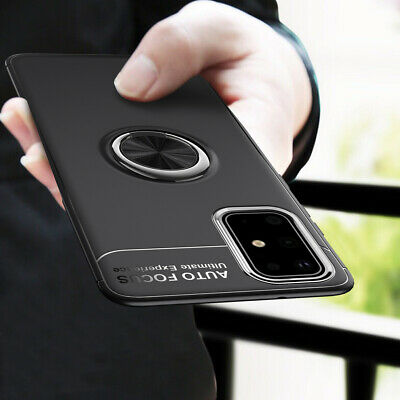 $ CDN5.42 • Buy For Samsung Galaxy S20 A71 A51 Hybrid Magnetic Ring Holder TPU+Metal Case Cover