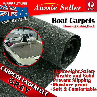 AU26.96 • Buy Anti Skidding Boat Carpet Marine Underlayment Floor Guards Yacht Deck Cab 2Mx1M